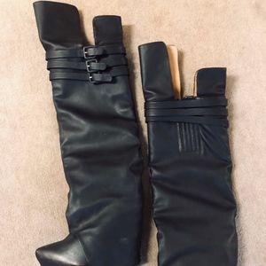 Black Jeffery Campbell Boots
